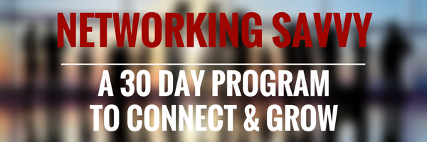 Become a savvy networker